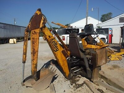 Kelley Farm Equipment Hydraulic Backhoe Attachment For Skid Steer As-Is!