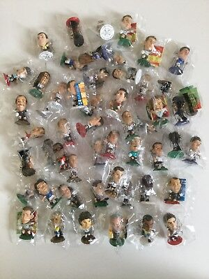 Corinthian Microstars Mixed Lot 54 Sealed Figures Assorted Bases Inc. Gold
