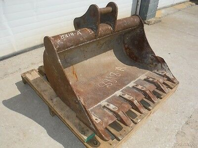 "Used 36"" Ditching / Trenching Tooth Bucket For Mini Excavator / Backhoe!"