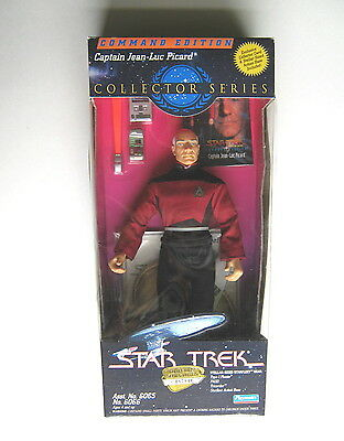 "Star Trek Captain Jean-Luc Picard 9"" Action Figure Collector Series 1994"