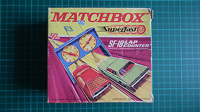 Matchbox Superfast SF-18 Lap Counter - Excellent Condition