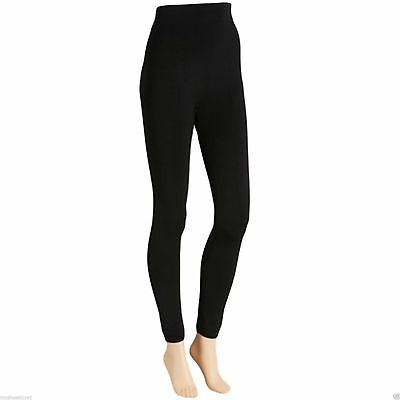 Ladies  Women's Winter Warming Fleece Lined Thick Thermal Footless Tights S-XL