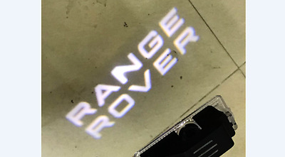 Range Rover Lettering Under Door Led Puddle Projector Ghost Lights