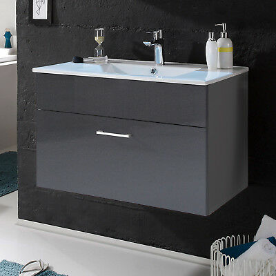 waschtisch set mit waschbecken eiche tr ffel. Black Bedroom Furniture Sets. Home Design Ideas