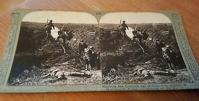 World War 1 3D stereoscopic picture of the  Battle of the Somme