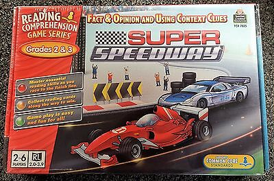 Super Speedway Reading Comprehension Learning Game for Grades 2 and 3 NEW