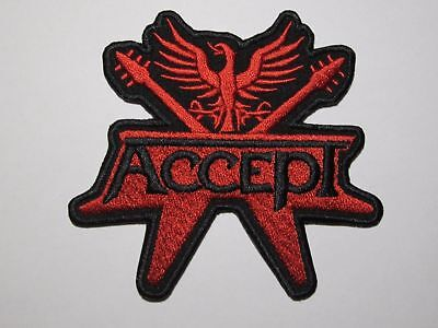 ACCEPT embroidered NEW patch heavy metal