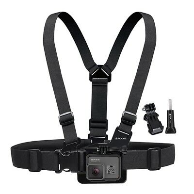 Adjustable Elastic Body Chest Strap Harness for GoPro HERO 6 HERO 5 4 3+ 2 Sessi