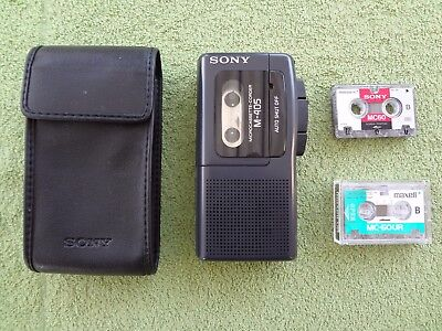 Sony M-405 microcassette corder dictaphone