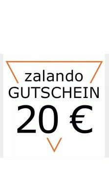 20 zalando gutschein eur 7 99 picclick de. Black Bedroom Furniture Sets. Home Design Ideas
