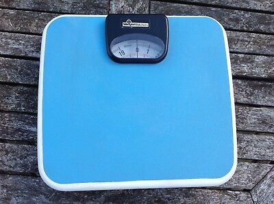 VINTAGE WEIGHTWATCHERS ANALOGUE MECHANICAL BATHROOM SCALES Made in West Germany