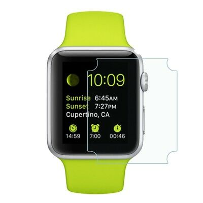 Screen Protector Edge to Edge Genuine Soft Clear Cover for Apple Watch 38mm