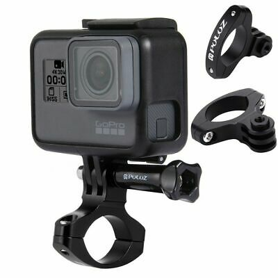 Bike Bicycle Handlebar Mount Clamp for GoPro HERO 6 5/4/3/2/1 Cameras 31.8mm