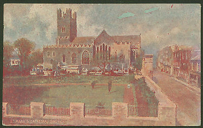 St.Mary's Cathedral, Limerick - Vintage Printed Postcard