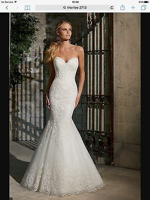 Nwt Morilee 2713 Ivory Bridal Gown, Uk10. Sale!!