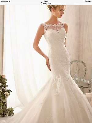 Bnwt Morilee 2610 Ivory Gown. Available In Uk12. Sale Price!!