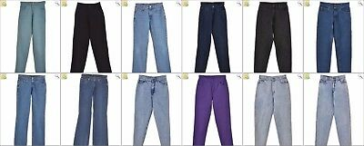 JOB LOT OF 17 VINTAGE WOMEN'S JEANS  - Mix of Era's, styles and sizes (24084)
