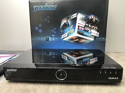 BT  YOUVIEW  Humax DTR T1000 SET TOP BOX FREEVIEW HD RECORDER - 500GB