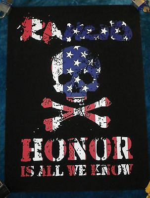 """Rare Rancid Honor Is All We Know Official Limited Screened Poster 18"""" X 24"""" Kbd"""
