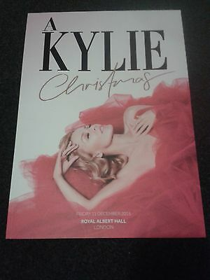 Kylie Minogue official 2015 Christmas brochure