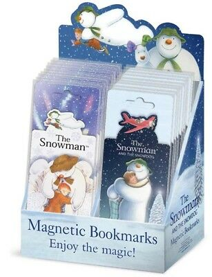 THE SNOWMAN Magnetic Bookmark SNOWMAN AND SNOWDOG Magnetic Bookmark FREE POSTAGE