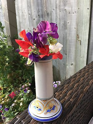 Vintage 1930s Collard Honiton Candlestick/Posy Vase