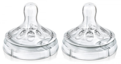 Philips Avent Variable Flow Natural Nipple, 2-Count