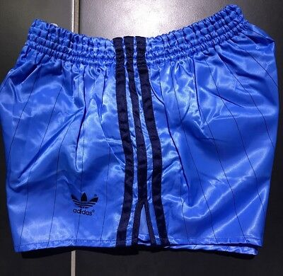 NEW RARE Adidas Nylon Sprinter Shorts Glanz  Football Swim Gym Running Vintage