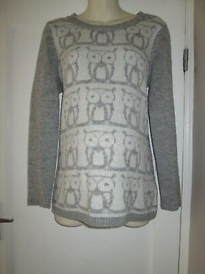 Pretty Size 16 Owl Detail New Look Maternity Jumper See Pics!!