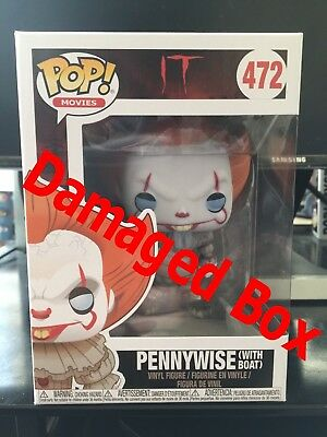 Funko Pop! Horror IT - PENNYWISE With Boat (Mint Box) (PRE-ORDER)