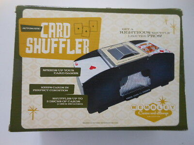 Card Shuffler Games Automatic shuffler Card games