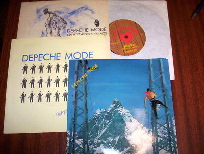 "Depeche Mode 4x 45s ""Love In Itself-2 + Everything Counts"" +2 - Ex listed-l@@k!"