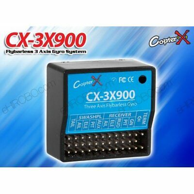 CopterX CX-3X900 Flybarless 3 Axis Gyro System for DFC Flybarless RC Helicopter