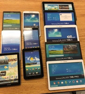Lot of 11 Demo Dummy Replica Samsung Galaxy Tab Tablets  Look Realistic