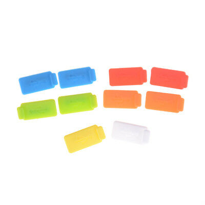 10PCS Rubber Soft Silicon Protective AntiI Dust USB Plug Cover Stopper  LE