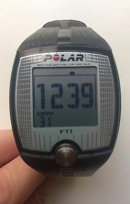 Polar FT1 Heart Rate Monitor T31 and Sports Watch Grey