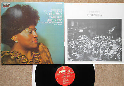 Jessye Norman Leipzig Orch Masur Strauss 4 Last Songs 6 Orchestral Songs Philips