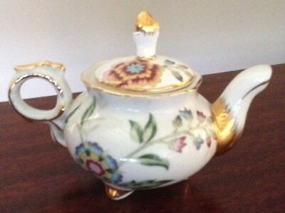 Miniature Regal Porcelain Teapot
