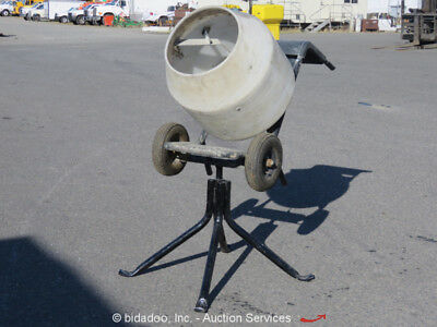 Multiquip MC3PEA Portable Electric Wheelbarrow Concrete Mortar Mixer 3/4HP MQ