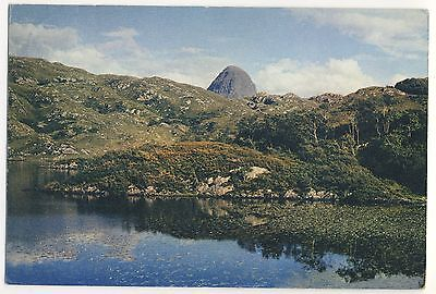Old Postcard (1967) - The Peak of Suilven, Sutherland (Dixon)  - Posted M051