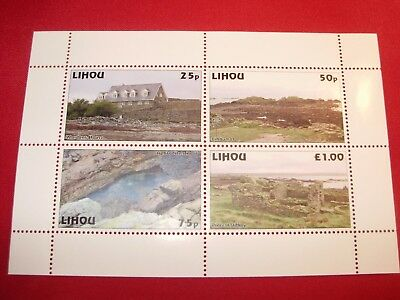 GB British Local Lihou Island Guernsey 2009 Views Issue Perforated SHEET
