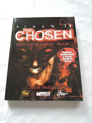 Blood 2 II The Chosen Official Strategy Guide Lösungsbuch Monolith Sammler