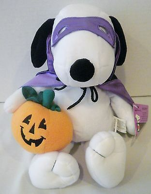 Hallmark Halloween Peanuts Collection Snoopy Boo Sound & Shaking Motion Plush