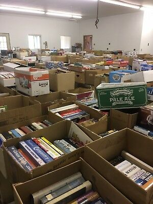 30,000+ books, DVD's, LP's etc.