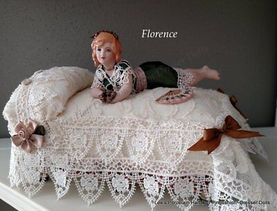 Pincushion Doll, Collectible Miniature Doll, Boudoir Doll, Half Doll related