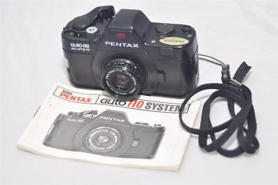 Vintage Pentax Sub-Mini Auto 110 Super Camera & 24mm Lens Lomography Japan
