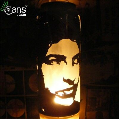 Bob Dylan Beer Can Lantern! Pop Art Portrait Candle Lamp