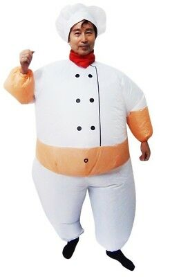 NEW Chef Fancy Dress Inflatable Suit Essential Home Supply AUS General Class
