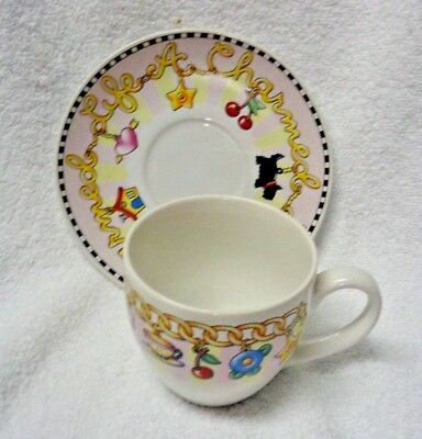 Scotty Scottie Dog  Mary Engelbreit  A Charmed Life Cup and Saucer