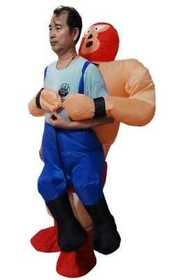 NEW Wrestler Fancy Dress Inflatable Suit Essential Home Supply AUS General Class